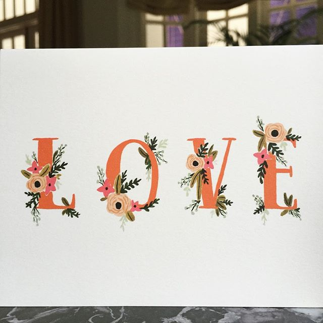 A vintage Rifle Paper Co card and one of my favourites. A simple message beautifully conveyed - the world certainly seems to need a lot of this right now. Wishing you a happy weekend filled with love ️#riflepaperco #stationeryaddict #greetingcards #love #lovenothate #livethelittlethings #slowliving #vintagestyle