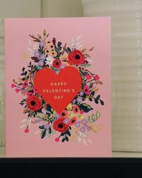 Rifle Paper Co Valentines Day card - supplied by The Steamship Trading Company in Singapore