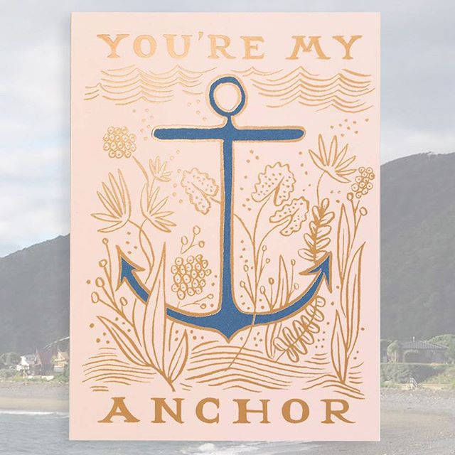 Meri Meri isn't the only provider of nautical delights! This week features some lovely marine messages from our other suppliers, starting with @riflepaperco ! Father's Day may have just passed but there's never a bad time to thank your rock and anchor 🥰 #fathersday #happyfathersday #anchor #showyourlove #thanks #typography #riflepaperco #pirates #nautical #giftcards #celebration #singaporeshopping #gooddesign