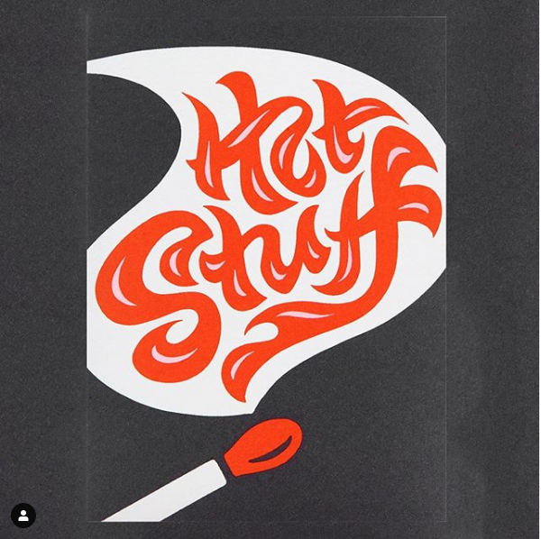 Break out the candles and this card for your upcoming hot date  @alisoncarmichael for @lagomdesign #gooddesign #typography #giftideas #showyourlove #giftcards #greetingcards #singaporeshopping #hotstuff